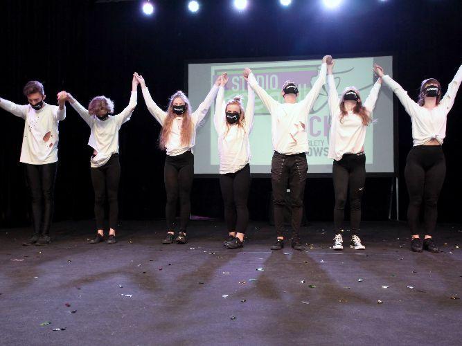 Pokazy taneczne naszych podopiecznych