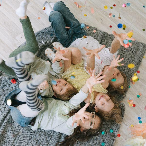 Urodziny dla dzieci i przygotowane zabawy integracyjne