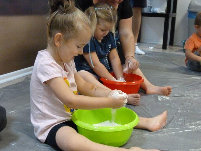 Zajęcia dla dzieci z sensoplastyki